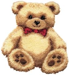 Vervaco Knüpfpackung PN-0014348 Teddybär 45x60
