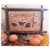 Fairy Wool In The Wood Stickvorlage Farm Fresh Eggs
