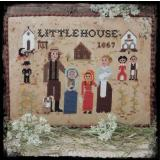 Stickvorlage Fairy Wool In The Wood Little House