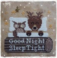 Fairy Wool In The Wood Stickvorlage Good Night Sleep Tight