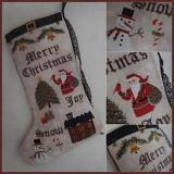 Fairy Wool In The Wood Stickvorlage Christmas Stocking