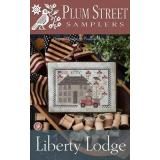 Plum Street Samplers Stickvorlage Liberty Lodge
