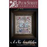 Plum Street Samplers Stickvorlage New Constellation