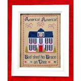 Stickvorlage Pickle Barrel Designs America America