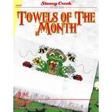 Stoney Creek Stickvorlage Towels Of The Month June