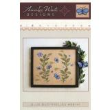 Annalee Waite Designs Stickvorlage Blue Butterflies