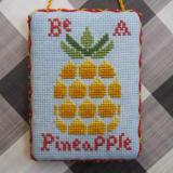 Bendy Stitchy Designs Stickvorlage Be A Pineapple