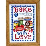 Bobbie G. Designs Stickvorlage Bake Everything With Love