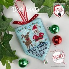 Hands On Design Stickvorlage Secret Santa Secret Santa