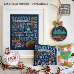 Hands On Design Stickvorlage Lets Talk Autumn