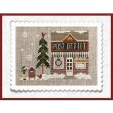 Little House Needleworks Stickvorlage Hometown Holiday Post Office