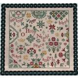 Praiseworthy Stitches Stickvorlage Simple Gifts O Holy Night