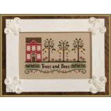 Country Cottage Needleworks Stickvorlage Trees And Bees
