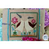 Lindy Stitches Stickvorlage Beach Dance