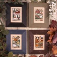 Prairie Schooler Stickvorlage Country Seasons