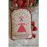 Pineberry Lane Stickvorlage Strawberry Queen