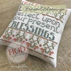 Hands On Design Stickvorlage Present Blessings