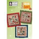 Heart In Hand Needleart Stickvorlage Christmas Square Dance 3