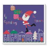 Susanamm Cross Stitch Stickvorlage Is Coming To Town