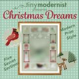 Tiny Modernist Inc Stickvorlage SAL Christmas Dreams 1