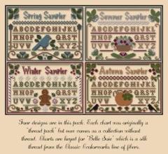 Little House Needleworks Stickvorlage Seasons Samplers