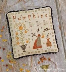 Pineberry Lane Stickvorlage Fancey Blackett The Perfect Pumpkin