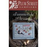 Plum Street Samplers Stickvorlage Summertide Blessings