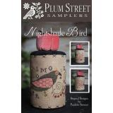 Plum Street Samplers Stickvorlage Nightshade Bird