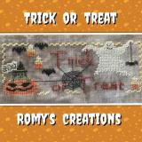 Romys Creations Stickvorlage Trick Or Treat