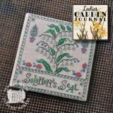 Summer House Stitche Workes Stickvorlage Ladies Garden Journal 3 Solomons Seal
