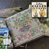 Summer House Stitche Workes Stickvorlage Ladies Garden Journal 5 Johnny Jump Up