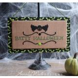 Annalee Waite Designs Stickvorlage Batty Halloween