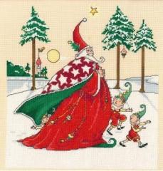 Imaginating Stickvorlage Christmas Wizard