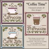 Little House Needleworks Stickvorlage Coffee Time