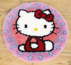 Vervaco Knüpfpackung PN-0147570 Hello Kitty 55x55