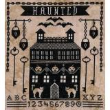 Stickvorlage Artful Offerings Haunted Manor House