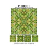 CM Designs Stickvorlage Shooting Star Collection Peridot
