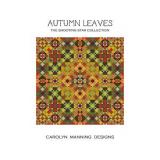 CM Designs Stickvorlage Shooting Star Collection Autumn Leaves