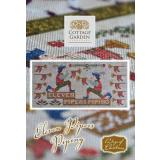 Cottage Garden Samplings Stickvorlage 12 Days of Christmas Eleven Pipers Piping