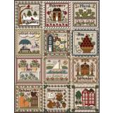 Little House Needleworks Stickvorlage Months Of The Year