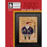 Heart In Hand Needleart Stickvorlage Wee One Wee Santa 2020