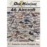 Jeanette Crews Designs Stickvorlage 46 Flugzeuge