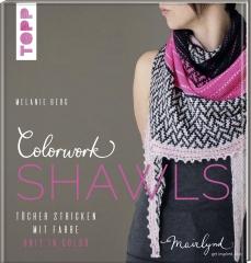 Colorwork Shawls stricken - Melanie Berg Mairlynd