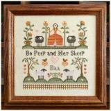 Little House Needleworks Stickvorlage Bo Peep And Her Sheep