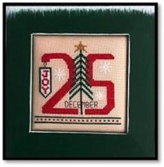Kays Frames & Designs Stickvorlage Dec 25