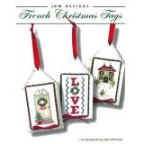 JBW Designs Stickvorlage French Christmas Tags