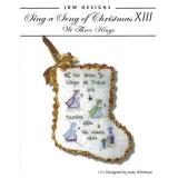 JBW Designs Stickvorlage Sing A Song Of Christmas XIII We Three Kings