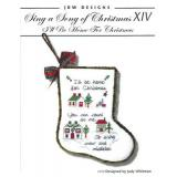 JBW Designs Stickvorlage Sing A Song Of Christmas XIV Ill Be Home For Christmas
