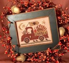 Homespun Elegance Ltd Stickvorlage Turkey Trot Truck