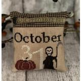 Mani Di Donna Stickvorlage 31st October Pillow